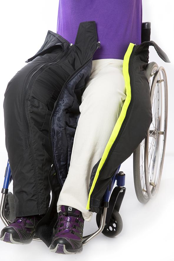 täckbyxa för dig med funktionsnedsättning